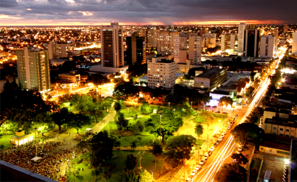 City of Campo Grande -  Night View